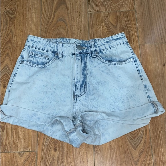 Cotton On Pants - Cotton On high waisted denim shorts